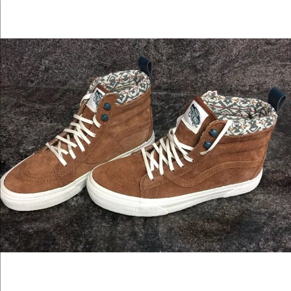 6479afbcf5b1 🔥Sale Vans Sk8-Hi Top MTE Monk Robe Leather Shoes